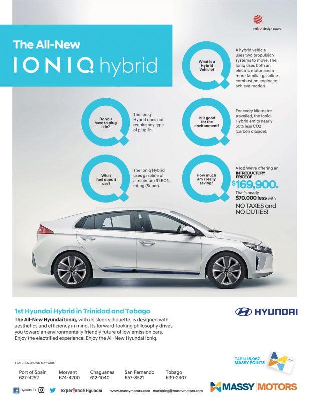 Hyundai ioniq hybrid for Garage ford massy